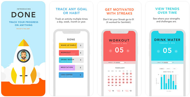 Done Habit Tracker App