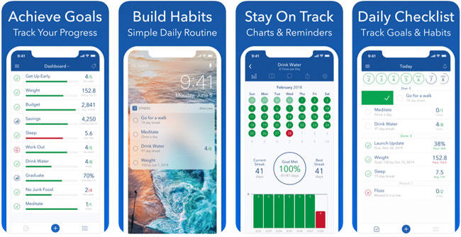 Strides Habit Tracker App